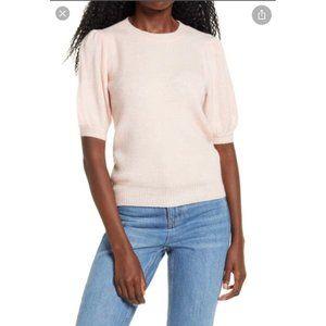 Vero Moda Puff Sleeve Ribbed Sweater S